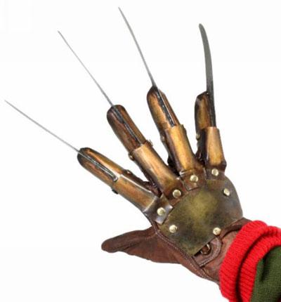 Nightmare on Elm Street Dream Warriors Glove Replica