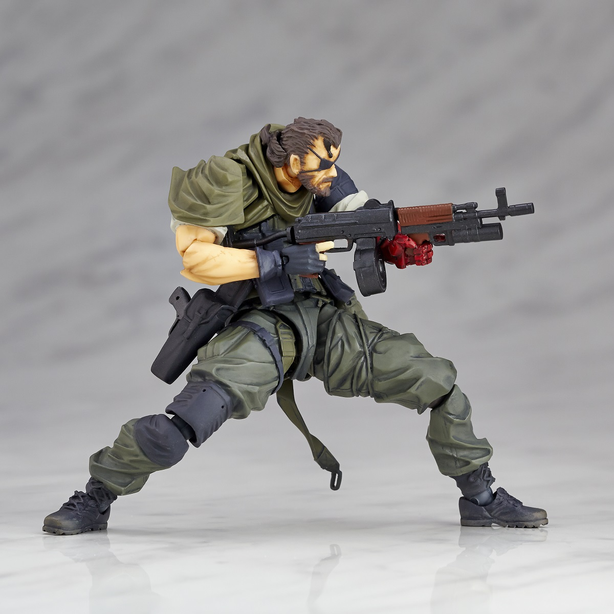 Metal Gear Solid V: RM-015 Venom Snake Olive Drab Fatigues Version Action Figure
