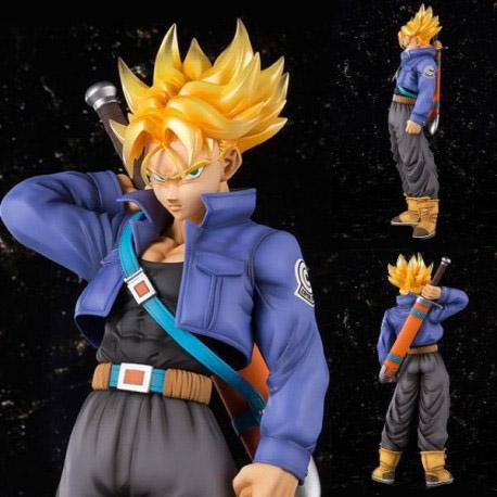 Dragon Ball Z Super Saiyan Trunks Figuarts Zero X Figure