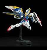 Gundam Wing: Wing Gundam EW Real Grade 1/144 Scale Model Kit