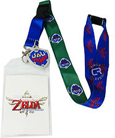 Legend of Zelda: Skyward Shield and Crest Lanyard