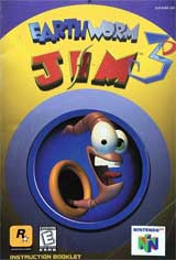 Earthworm Jim 3D (Instruction Manual)