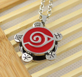 Naruto Konoha Ninja Village Spinning Necklace