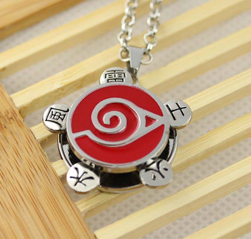 Naruto Knonoha Ninja Village Necklace