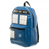 Dr. Who Tardis PU Leather Backpack