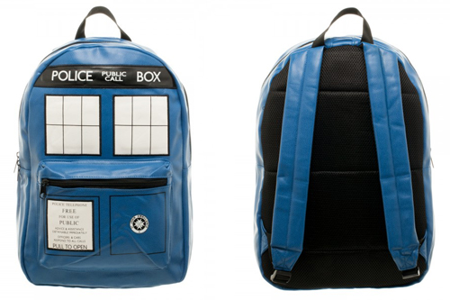 Dr. Who Tardis PU Backpack