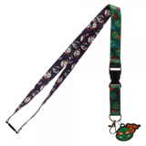 Teenage Mutant Ninja Turtles Icon Lanyard with Rubber Charm