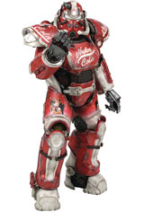 Fallout 4 T-51 Power Armor Nuka Cola Exterior Armor Pack