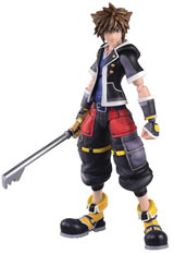 Kingdom Hearts 3: Sora 2nd Form Bring Arts 6 Inch Action Figure