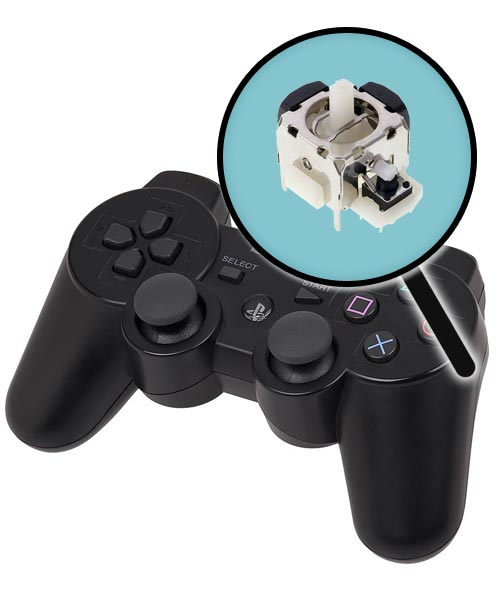 PlayStation 3 Repairs: Controller Single Analog Joystick Replacement Service