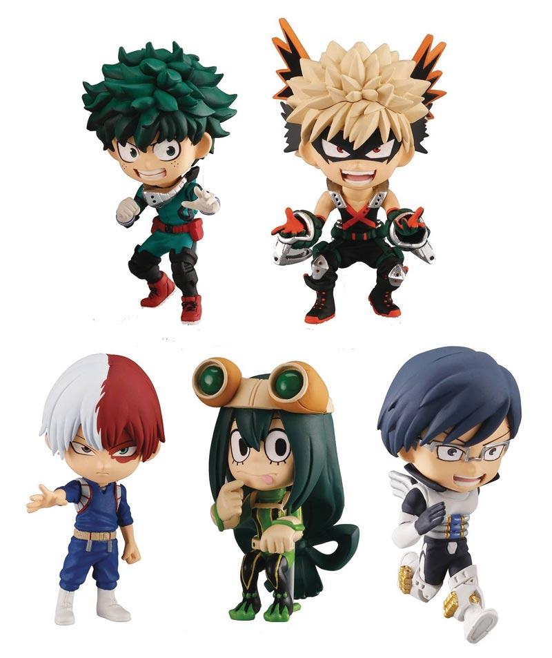 My Hero Academia Chibi Masters PVC Mini Figures all collectibles
