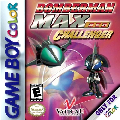 Bomberman Max Challenger Red