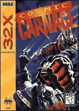 Cosmic Carnage / 32X