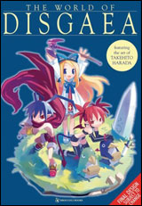 Disgaea Character Collection Illustration Book
