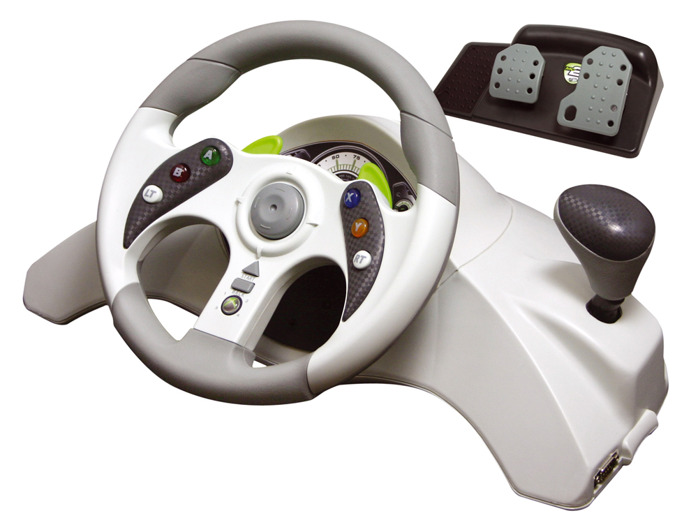 Xbox 360 MadCatz Steering Wheel