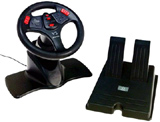 Dreamcast V3 FX Racing Wheel w/ Pedals