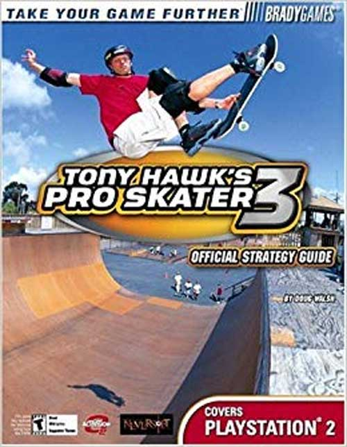 Tony Hawk's Pro Skater 3 Official Strategy Guide Book