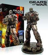 Gears of War: Marcus Fenix Cold Cast Bronze Statue