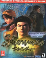 Shenmue Official Strategy Guide by Prima