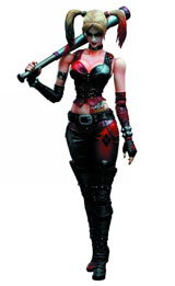 Batman: Arkham City Play Arts Kai Harley Quinn Action Figure