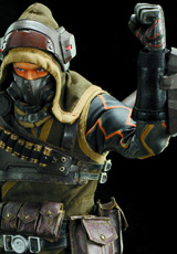 Lost Planet 2 Mercenary 1/6 Scale Action Figure