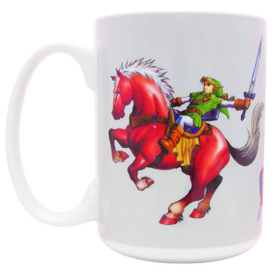 Link on Epona Mug