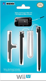 Wii U Stylus and Screen Filter Set