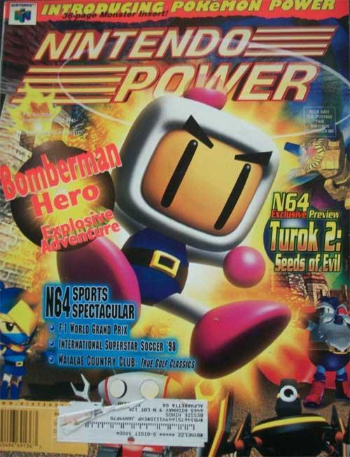 Nintendo Power Volume 111 Bomberman Hero