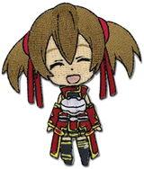 Sword Art Online: Chibi Silica Smile Patch