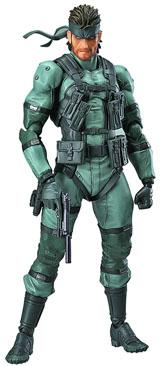 Metal Gear Solid 2 Solid Snake Figma