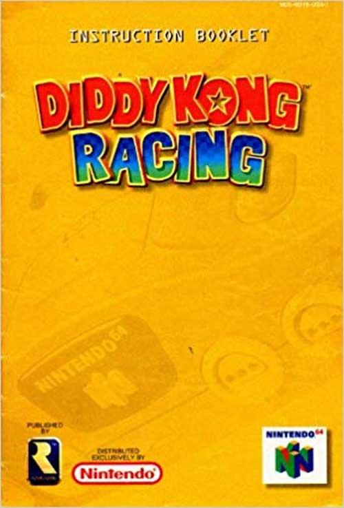 Diddy Kong Racing (Instructional Manual)