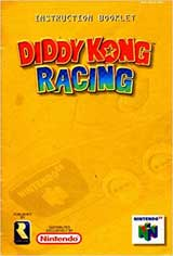 Diddy Kong Racing (Instructional Manual)