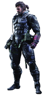 Metal Gear Solid V: Phantom Pain Sneaking Suit Venom Snake Figure