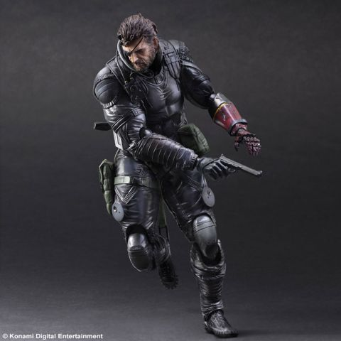 Metal Gear Solid V: Phantom Pain Play Arts Kai Sneaking Suit Venom Snake