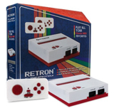 Retron 1 NES System Red and White