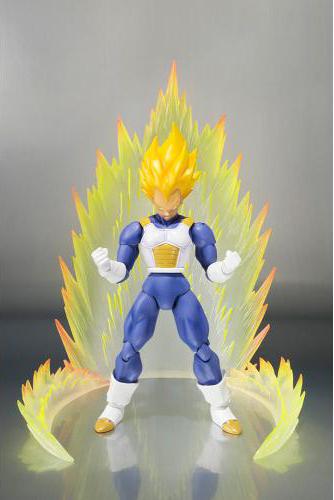 Dragon Ball Z Super Saiyan Vegeta Premium Color Version S.H. Figuarts Action Figure