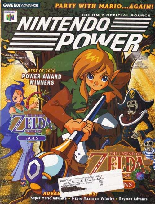 Nintendo Power Volume 144 Legend of Zelda: Oracle of Ages