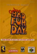 Conker's Bad Fur Day (Instruction Manual)