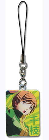 Persona 4 Chie Metal Cell Phone Charm