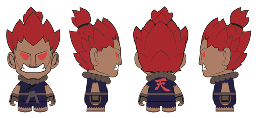 Street Fighter Akuma 7 Inch Figure