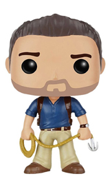 Pop Games Uncharted Nathan Drake Vinyl Figure