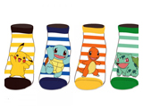 Pokemon Kanto Starters Ankle Socks 4 Pack