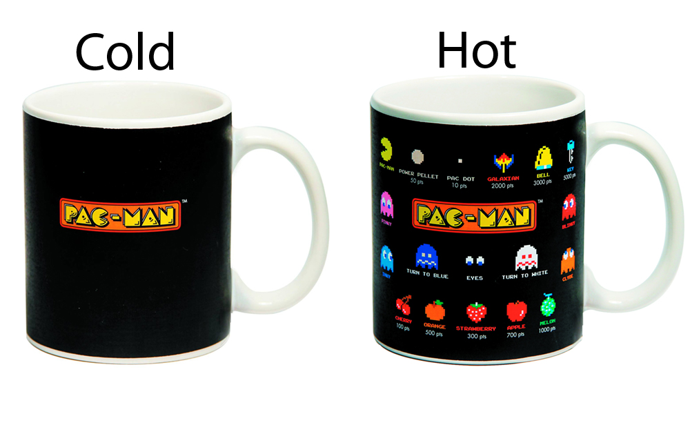 Pac-Man Glossary 20oz Heat Change Mug