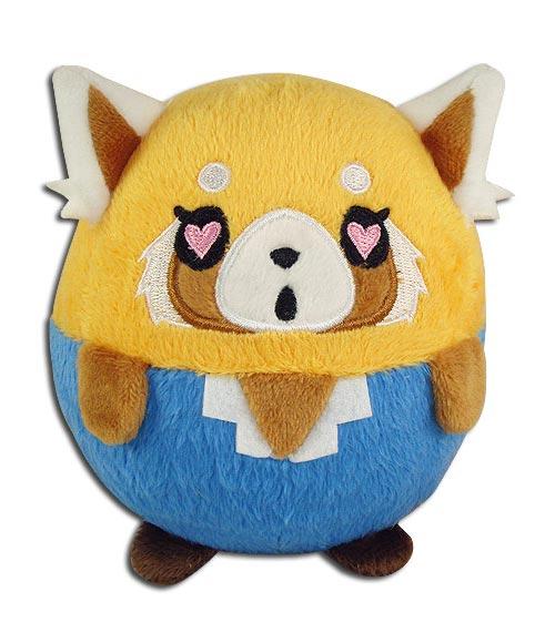 Aggretsuko Retsuko Heart Eyes 4 Inch Ball Plush