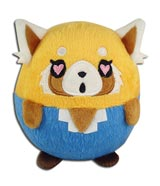 Aggretsuko Retsuko Heart Eyes 4 Inch Ball Plush