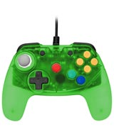 N64 Brawler64 Green Controller by Retro Fighters