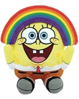 SpongeBob SquarePants Rainbow 8 Inch Phunny Plush