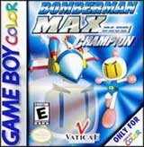 Bomberman Max Champion Blue