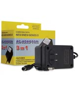 Universal AC Adapter for Nintendo/SNES/Genesis 3-in-1