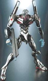 Neon Genesis Evangelion: Unit-04 Silver Die Cast Action Figure